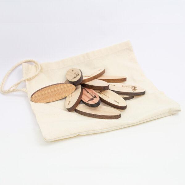 Handschmeichler aus Holz